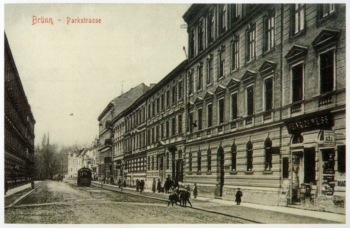 Brno - ulice Drobného / Drobného street