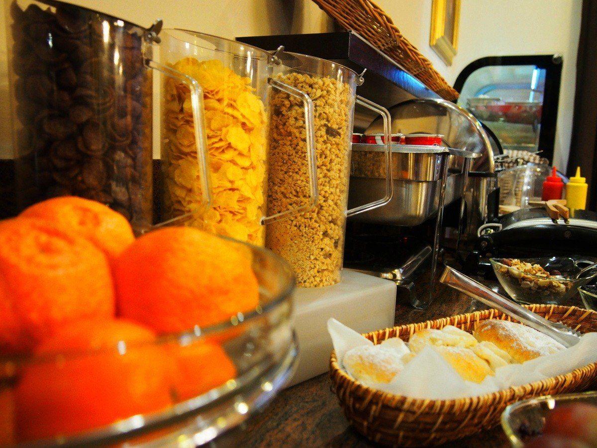 snídaně hotel Brno