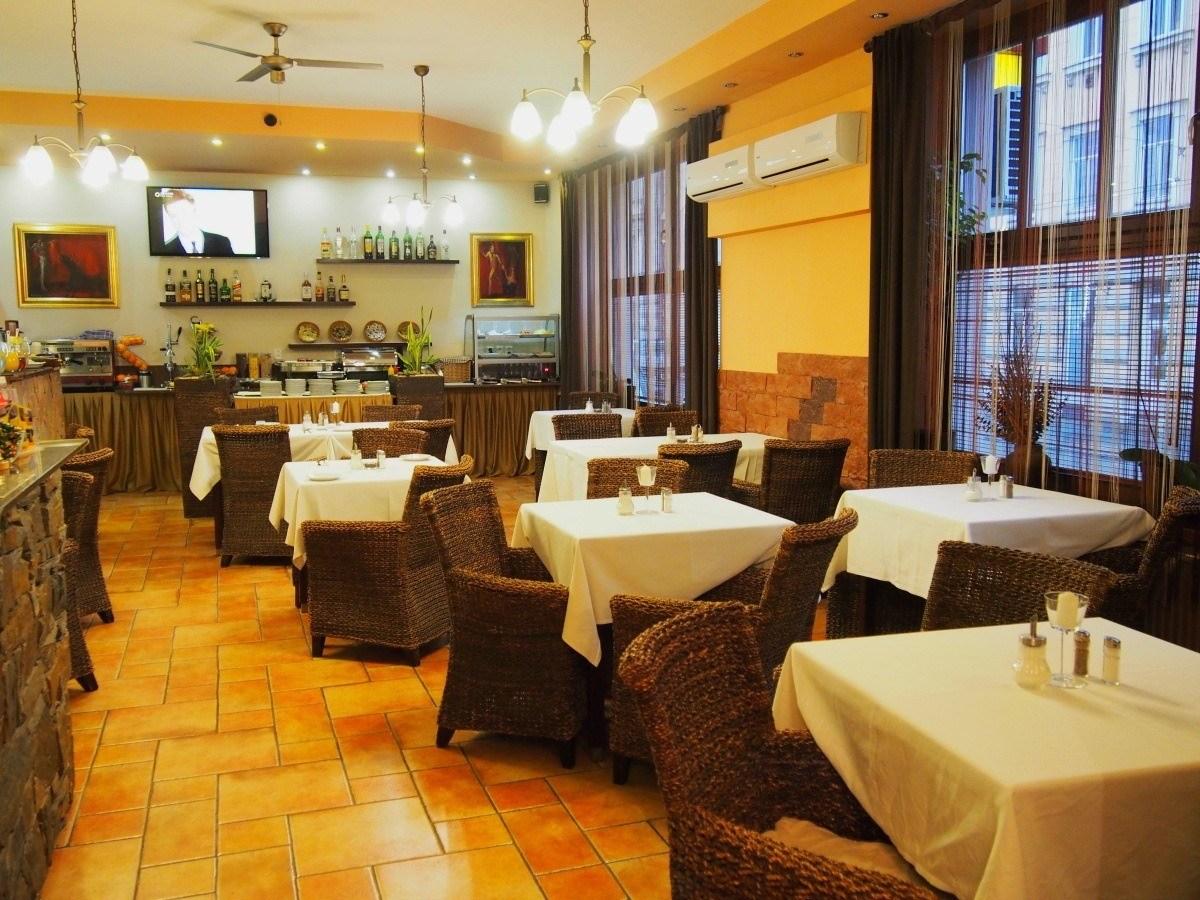 jídelna hotel Arte Brno